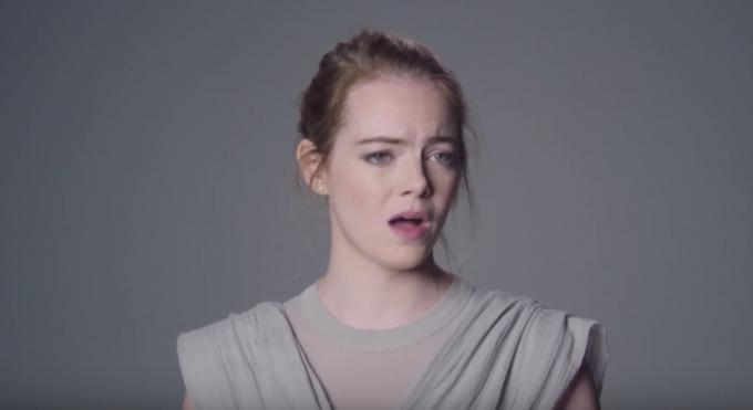 I provini per Star Wars di Emma Stone, Jon Hamm, John Boyega e gli altri