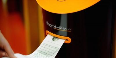 In Francia ci sono i primi distributori automatici di storie brevi