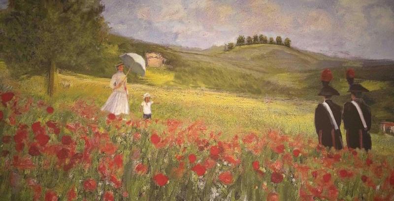 Il nuovo calendario dei carabinieri con i carabinieri for Immagini di quadri con fiori