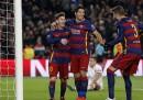 Barcellona-Roma è finita 6 a 1
