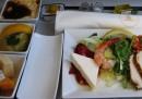 Presente e futuro del cibo sugli aerei