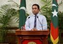 Giornate agitate alle Maldive