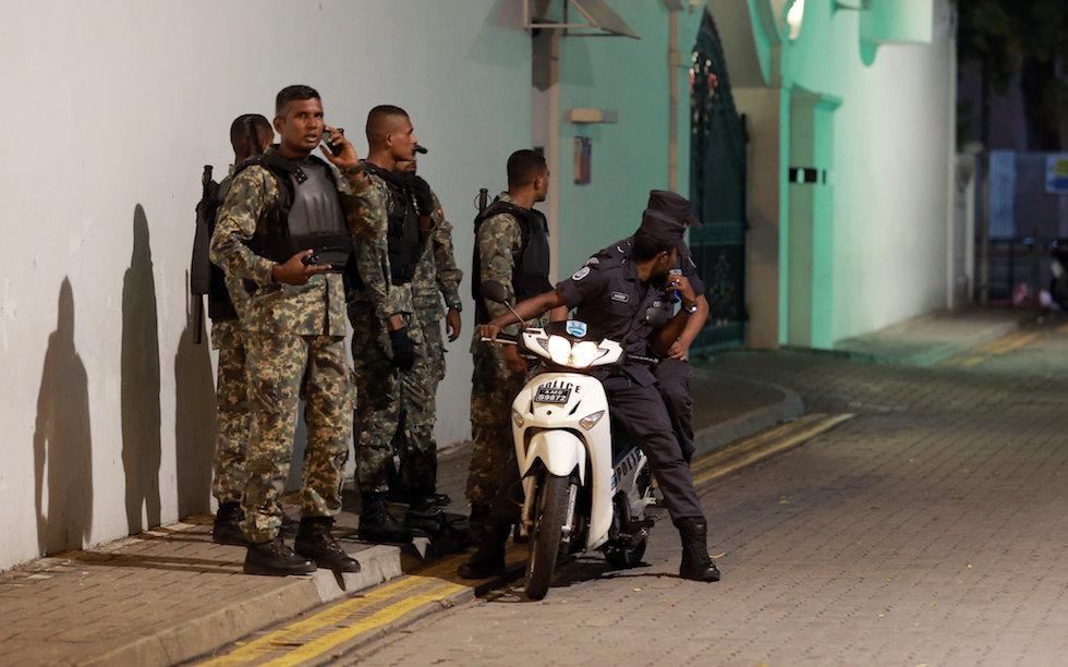 Maldives Explosive
