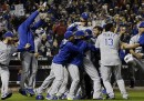 I Kansas City Royals hanno vinto le World Series di baseball