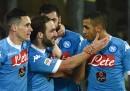 Il Napoli primo in Serie A