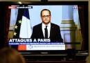 François Hollande: «È un atto di guerra commesso da un esercito di terroristi, l'ISIS»