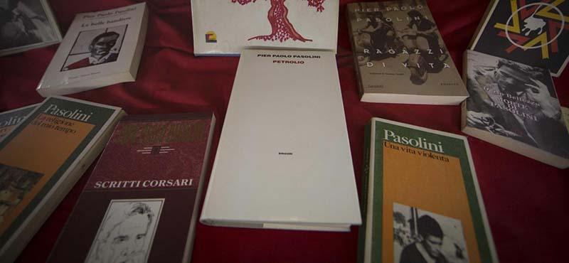 Mostra di oggetti e documenti di Pier Paolo Pasolini