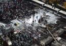 Le foto degli scontri a Seul, in Corea del Sud
