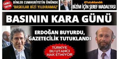 In Turchia sono stati arrestati due giornalisti di opposizione