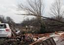 La forte tempesta nel sud-est degli Stati Uniti
