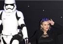 La risposta di Carrie Fisher ai commenti sul suo aspetto fisico nel nuovo Star Wars