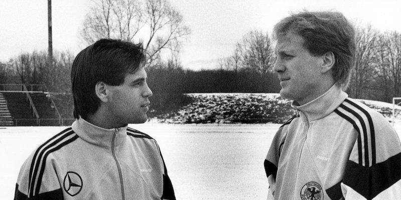 Ulf Kirsten und Matthias Sammer