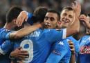 Le formazioni ufficiali di Napoli-Legia Varsavia