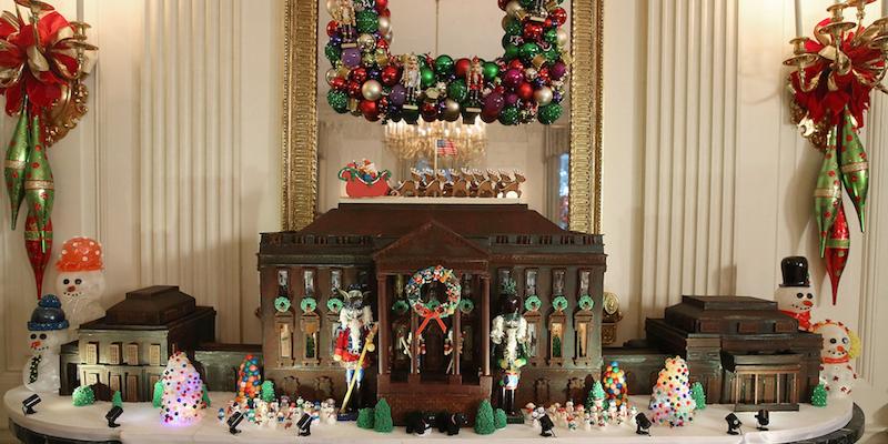 Natale alla casa bianca foto il post for Casa moderna natale