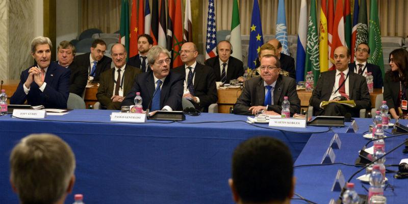 Conferenza Libia