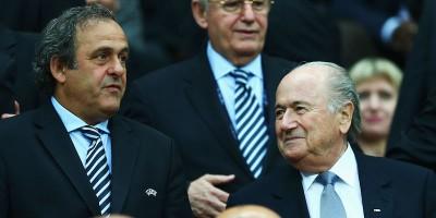 La FIFA ha squalificato Blatter e Platini