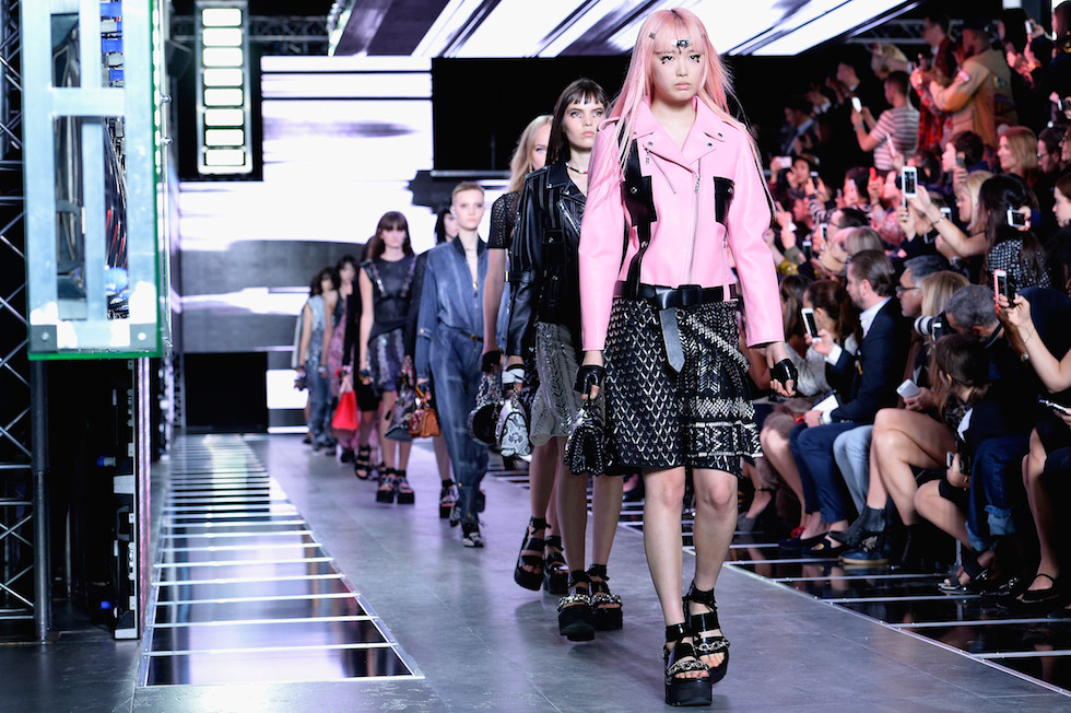 La sfilata di Louis Vuitton