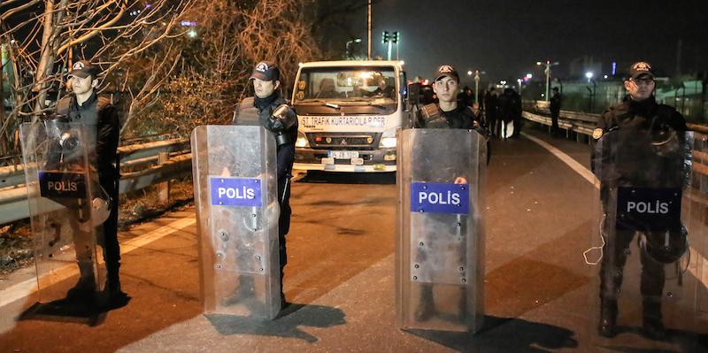 TURKEY-UNREST-EXPLOSION-BLAST-METRO