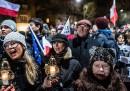 Le proteste in Polonia contro il governo