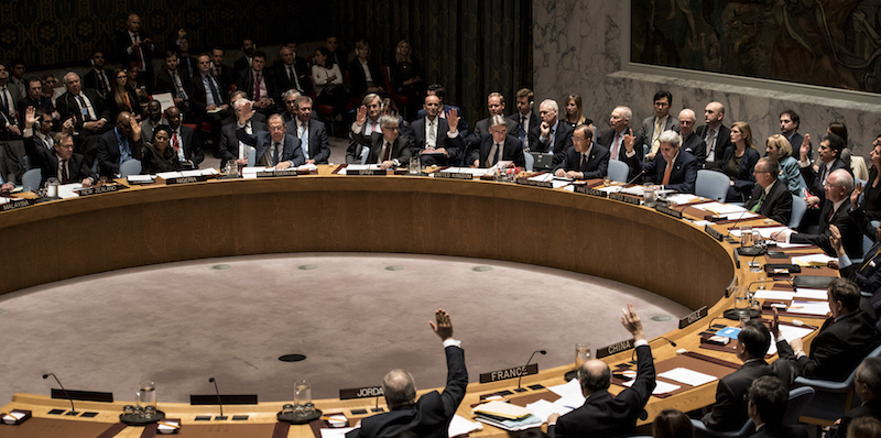 John Kerry Attends UN Security Meeting On Syrian Conflict