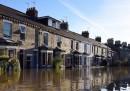 Le foto delle forti alluvioni in Inghilterra