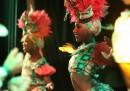 Le foto dei ballerini del Tropicana di Cuba tornati negli Stati Uniti