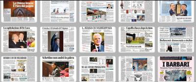 Il 2015 in 101 prime pagine