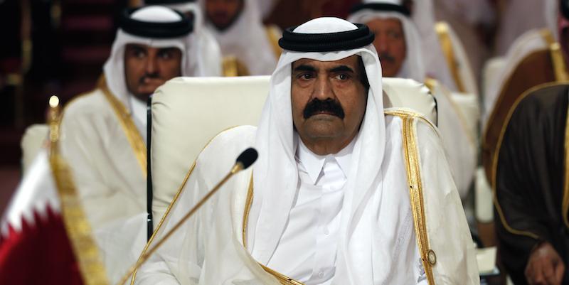 Ex emiro Qatar curato a Zurigo per gamba rotta, ragione volo notte