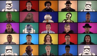 La sigla di Star Wars, rifatta a cappella dagli attori del nuovo film