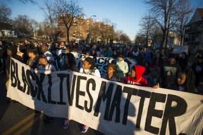 Gli attivisti di Blak Lives Matter