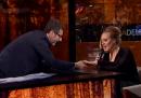 """La cantante Adele intervistata a """"Che tempo che fa"""""""