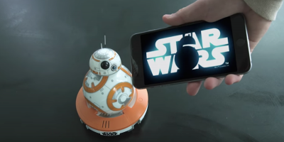 Il gran successo di BB-8, il nuovo droide di Star Wars