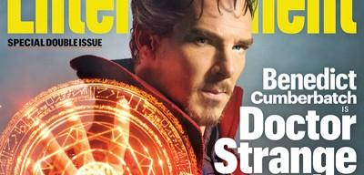 La prima immagine di Benedict Cumberbatch vestito da Doctor Strange