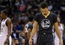 La squadra di NBA dei Golden State Warriors ha perso la sua prima partita dall'inizio della stagione, dopo 24 vittorie consecutive