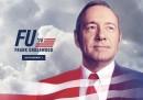 """Lo spot elettorale di Frank Underwood di """"House of Cards"""", per le presidenziali negli Stati Uniti del 2016"""