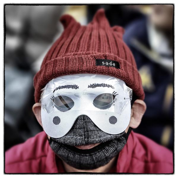Le maschere delle proteste in corea del sud il post for Interno delle piantagioni del sud