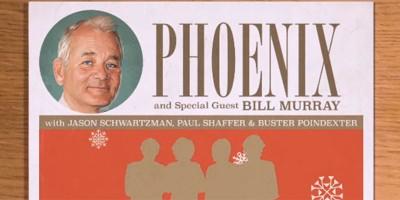 La canzone di Natale dei Phoenix e di Bill Murray