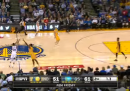 Il video del canestro di Stephen Curry da metà campo
