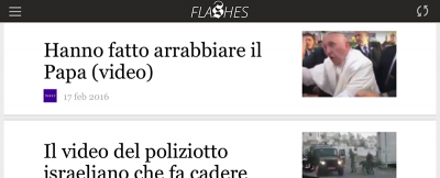 Flashes, il cugino del Post