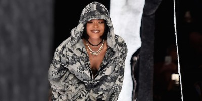 Le sfilate di Kanye West e Rihanna a New York