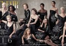 La copertina di Vanity Fair su Hollywood, con sole donne