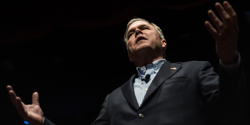 Jeb Bush Campaigns With Mother Barbara Bush One Day Before SC Primary