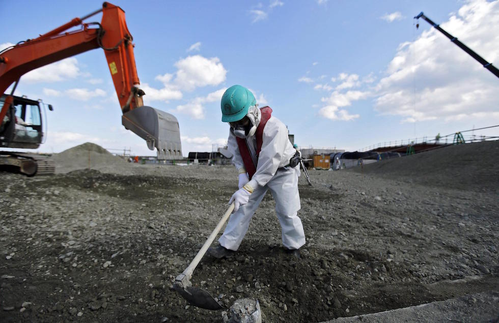 Media visit Fukushima nuclear plant ahead of fifth anniversary
