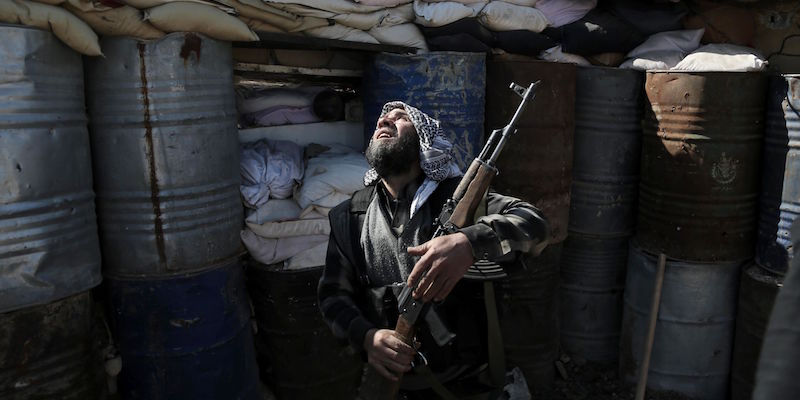 SYRIA-CONFLICT-REBELS