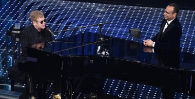 Sanremo 2016, i video di Elton John
