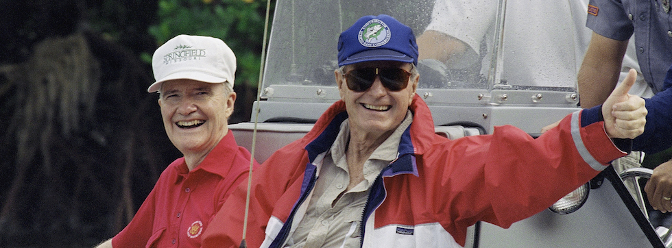 George H. W. Bush and Brent Scowcroft
