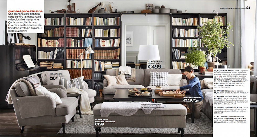 morto l 39 inventore della libreria billy il post. Black Bedroom Furniture Sets. Home Design Ideas