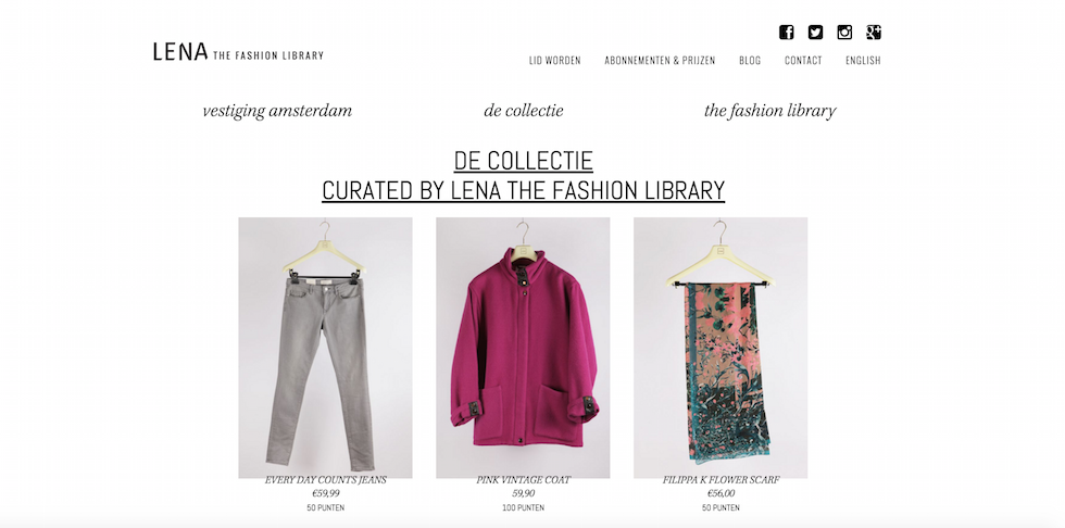 lena fashion library