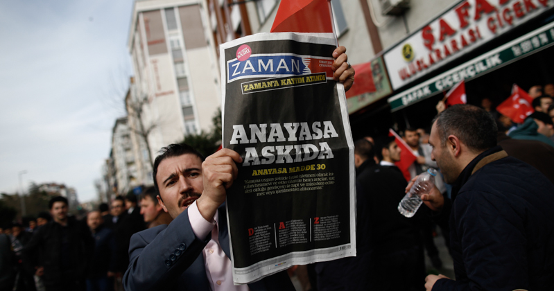Turkey Newspaper Seized