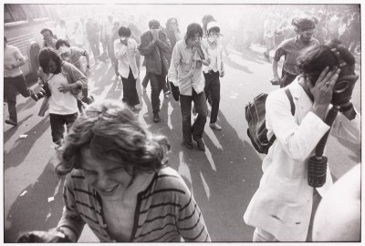 Kent State Demonstration, Washington D.C., 1970, di Garry Winogrand